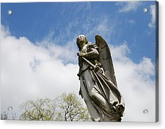 Winged Angel Acrylic Print by Jennifer Ancker