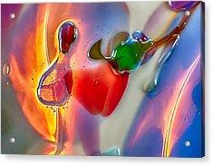 Winged Beauty Acrylic Print by Omaste Witkowski