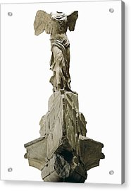 Wingel Victory Of Samothrace Or Nike Acrylic Print by Everett