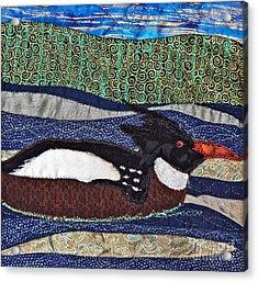 Winter Bird Acrylic Print by Susan Macomson