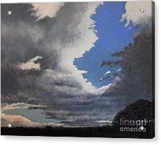 Winter Blues Acrylic Print by Paul Horton