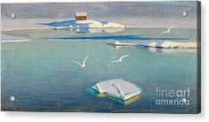 Winter Day Acrylic Print by Celestial Images