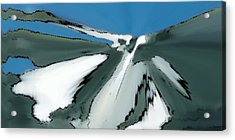 Winter In The Mountains Acrylic Print by Ben and Raisa Gertsberg