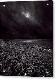 Winter Nightscape Acrylic Print by Bob Orsillo