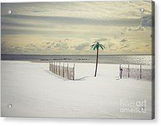 Winter Paradise Acrylic Print by Evelina Kremsdorf