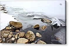 Winter Quabbin Acrylic Print by Randi Shenkman