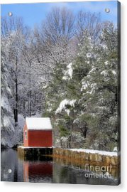 Winter Scene  Acrylic Print by Karol Livote