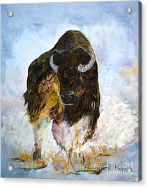 Winter Strength Acrylic Print by Anderson R Moore