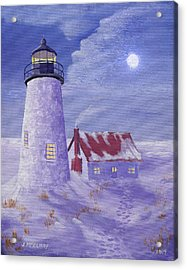 Winter Watch Acrylic Print by Jerry McElroy