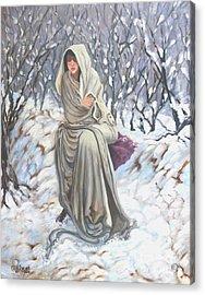 Winter Wonderland Acrylic Print by Caroline Street