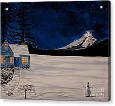 Winter's Eve Acrylic Print by Ian Donley