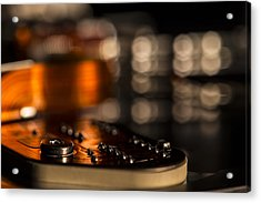 Wired Acrylic Print by Andrew Pacheco
