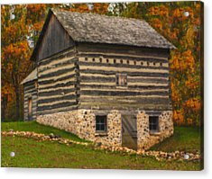 Wisconsin Homestead Acrylic Print by Jack Zulli