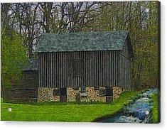 Wisconsin Rustic 2 Acrylic Print by Jack Zulli