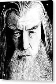 Wise Wizard Acrylic Print by Kayleigh Semeniuk