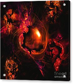 Wistful Love Deep In My Soul Acrylic Print by Franziskus Pfleghart