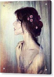 Wistfully... Acrylic Print by Spokenin RED