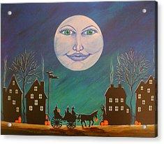 Witch Moon Acrylic Print by Christine Altmann