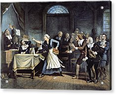 Witch Trial Acrylic Print by Granger