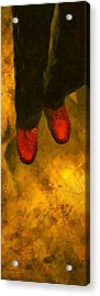 Witch Walking Acrylic Print by RC DeWinter