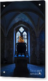 Witch's Potion Acrylic Print by Svetlana Sewell