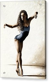 With Deftness Acrylic Print by Richard Young