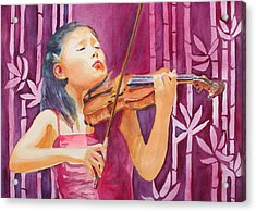 With Feeling Acrylic Print by Jenny Armitage