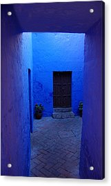 Within Bue Walls Acrylic Print by RicardMN Photography