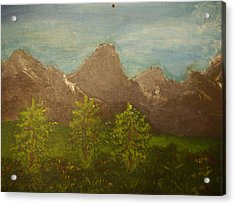 Within The Mountains Acrylic Print by Joshua Massenburg