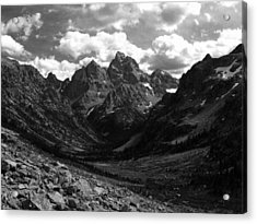 Within The North Fork Of Cascade Canyon Acrylic Print by Raymond Salani III