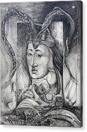 Wizard Of Bogomil's Island - The Fomorii Conjurer Acrylic Print by Otto Rapp