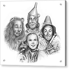 Wizard Of Oz Acrylic Print by Greg Joens