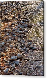 Wolf Creek Upstream Acrylic Print by Omaste Witkowski