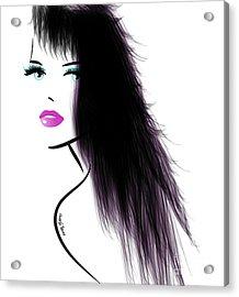Woman 5 Acrylic Print by Cheryl Young