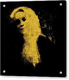 Woman In The Dark Acrylic Print by Pepita Selles