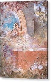 Woman Of Valor Acrylic Print by Michoel Muchnik