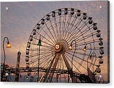 Wonderland Sunset Acrylic Print by Dan Myers