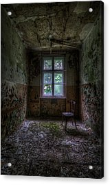 Wooden Chair Room Acrylic Print by Nathan Wright