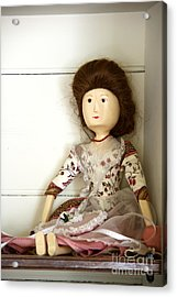Wooden Doll Acrylic Print by Margie Hurwich