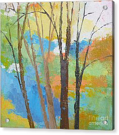 Woodland #1 Acrylic Print by Melody Cleary