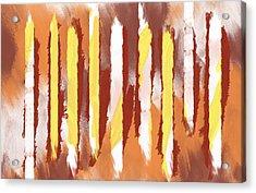 Woodland And Sunrise Acrylic Print by Condor