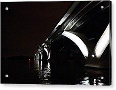 Woodrow Wilson Bridge - Washington Dc - 011319 Acrylic Print by DC Photographer