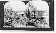 World War I Menin Road Acrylic Print by Granger