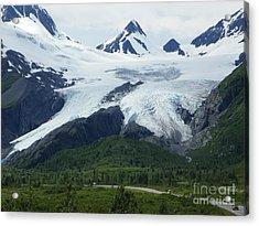 Worthington Glacier Acrylic Print by Jennifer Kimberly