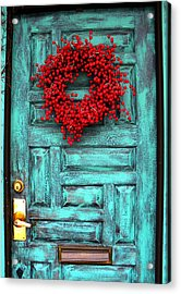 Wreath Of Berries Acrylic Print by Chris Berry