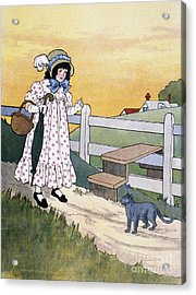 Wright: Pussy Cat Acrylic Print by Granger