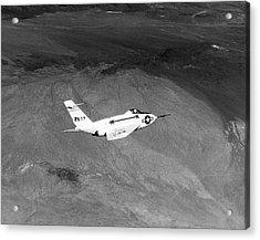 X-4 Bantam Experimental Aircraft Acrylic Print by Naca/nasa