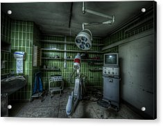 X Ray Room Acrylic Print by Nathan Wright