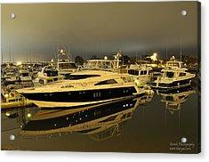 Yacht  Acrylic Print by Gandz Photography
