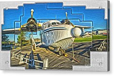 Yanks Air Museum Acrylic Print by Gregory Dyer